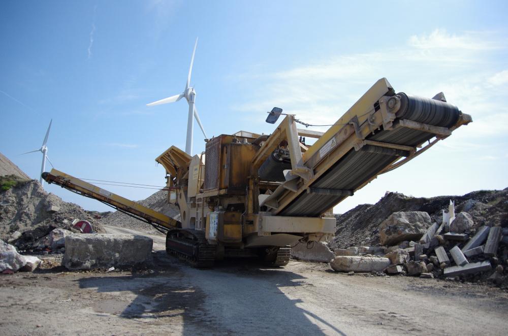maszyna uzywana w kopalni wegla